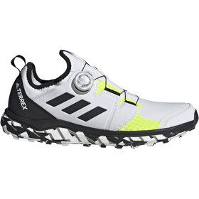 adidas TERREX Agravic Boa Trail Running Shoes Men, non-dyed/core black/solar yellow